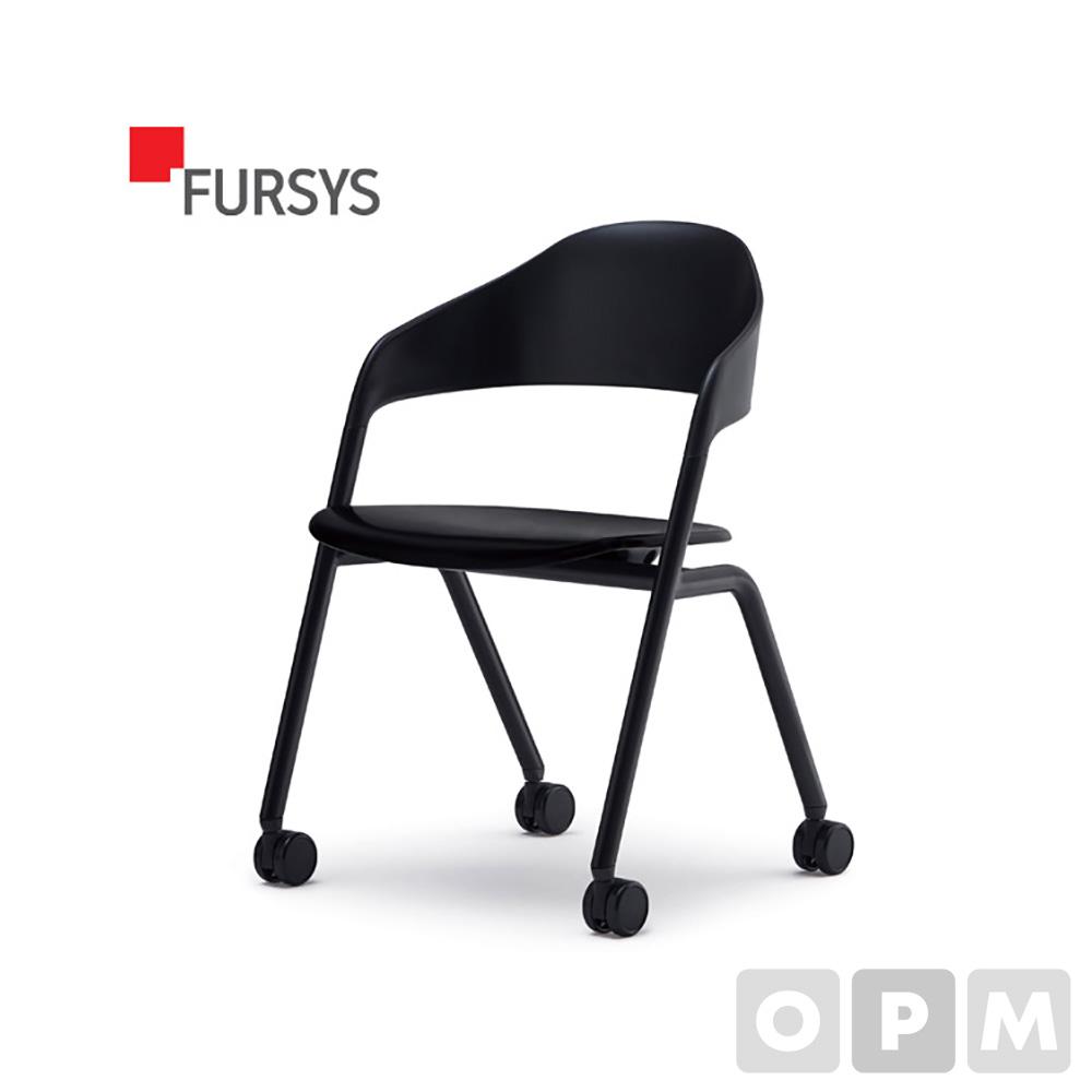 퍼시스 LOLLY CH0026 시리즈 CH0026M 회의용 의자(캐스터) BK