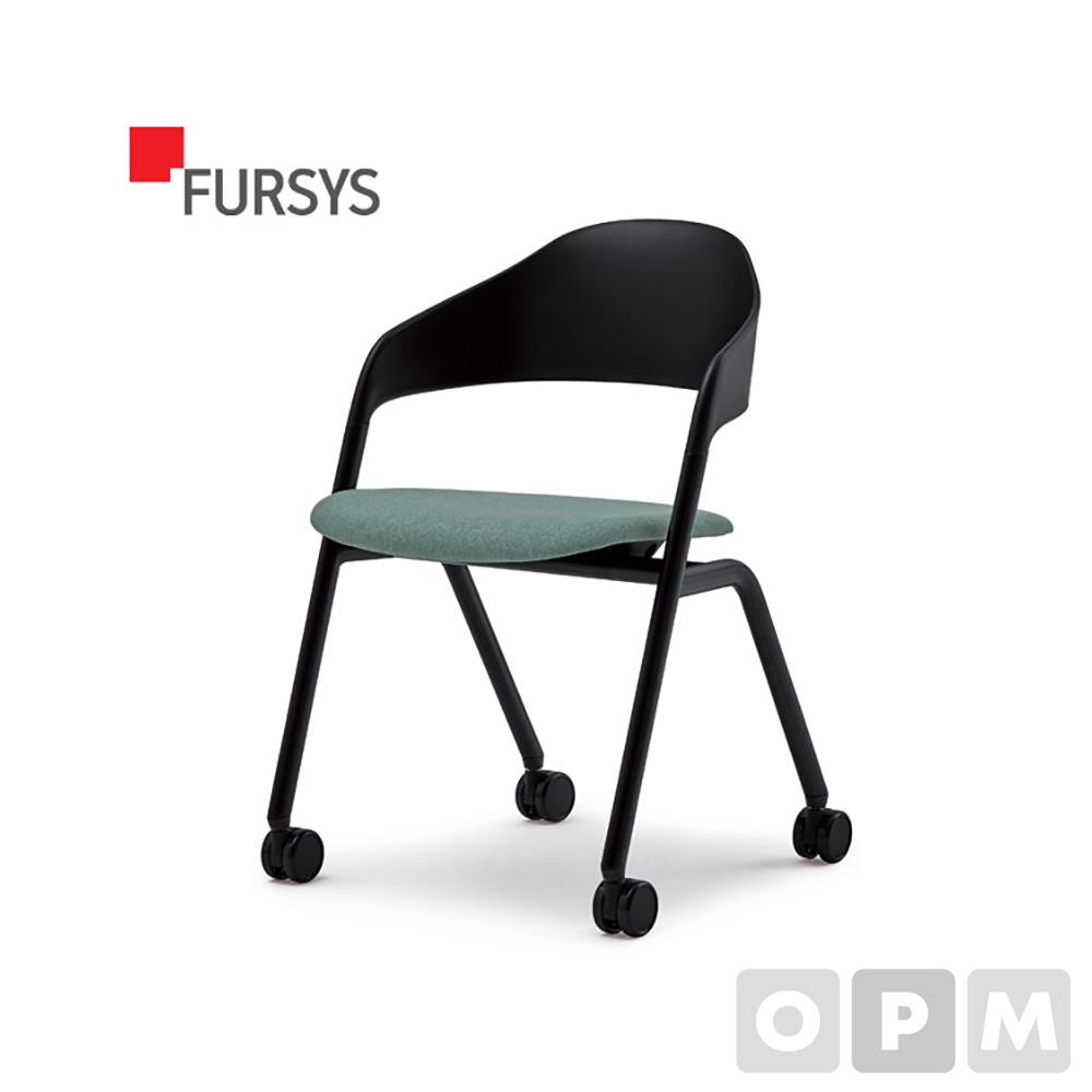 퍼시스 LOLLY CH0026 시리즈 CH0026MC 회의용 의자(캐스터/좌판패딩) 457L