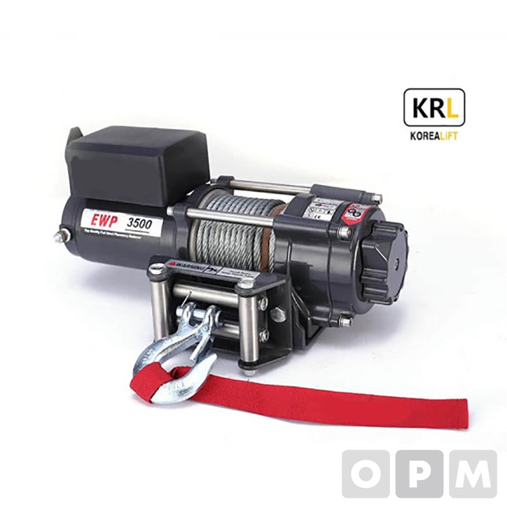 차량용 유압 윈치 EWP-3500U 24V