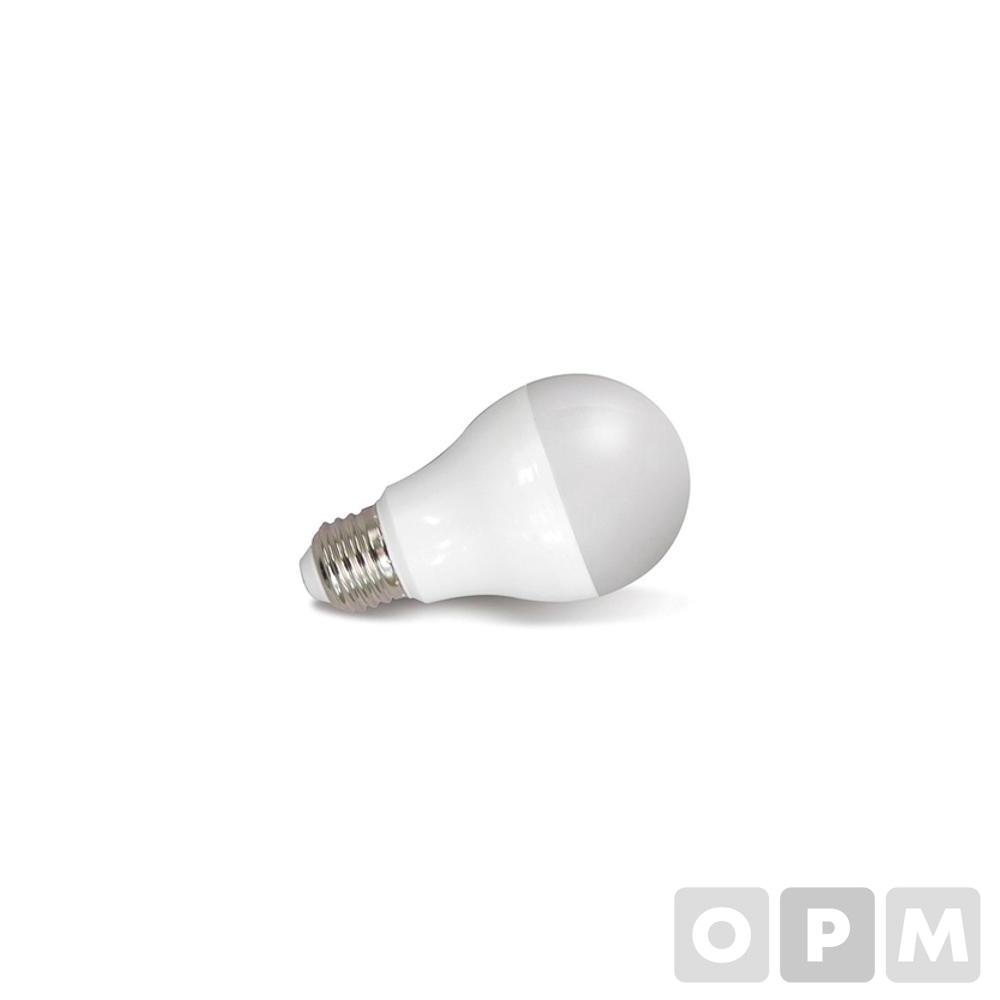 번개표 LED 전구(12W/전구색/낱개)