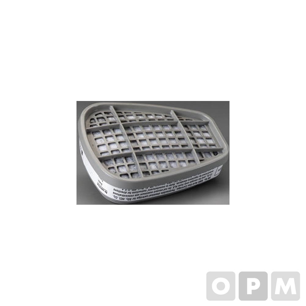 6000 시리즈용 방독용 마스크 필터(6002/2개)