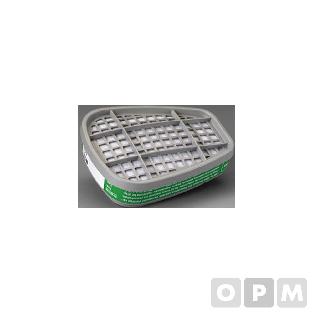 6000 시리즈용 방독용 마스크 필터(6004/2개)