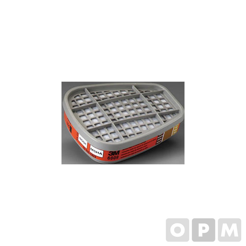 6000 시리즈용 방독용 마스크 필터(6009/2개)