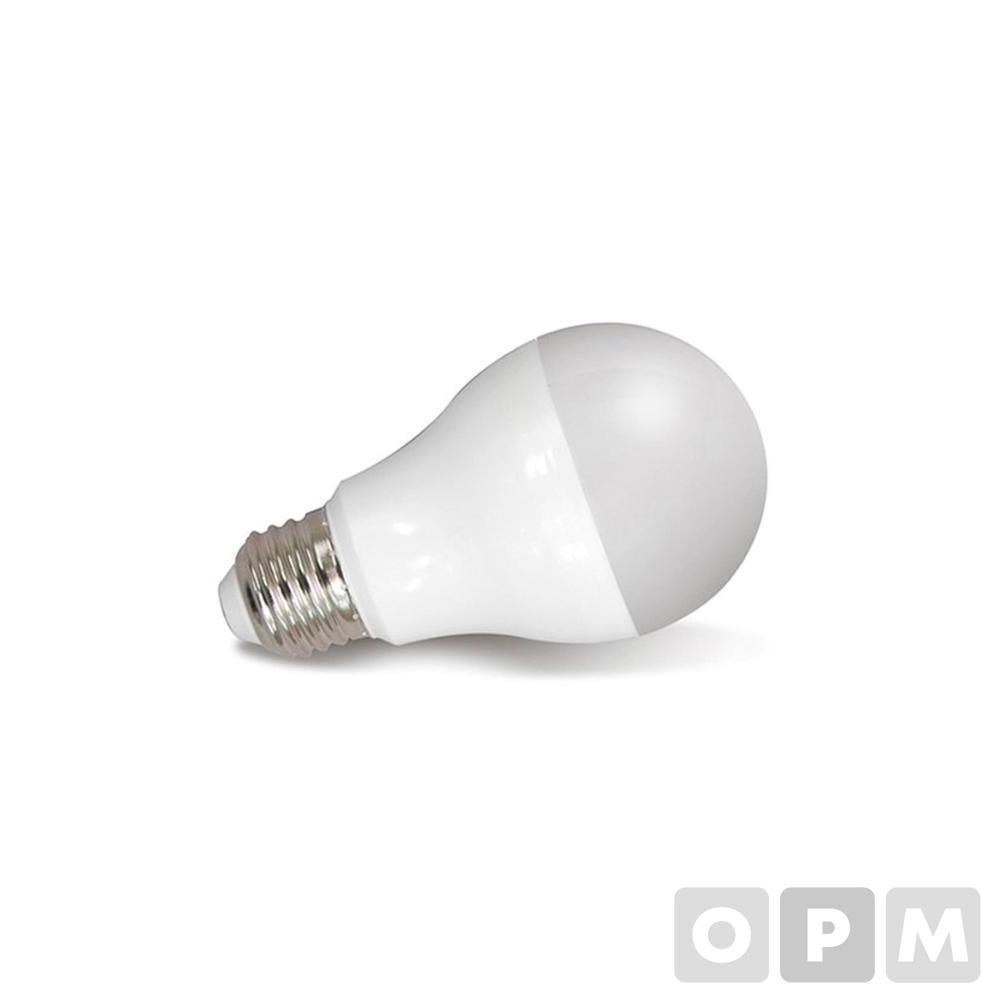 번개표 LED 전구(8W/전구색/낱개)