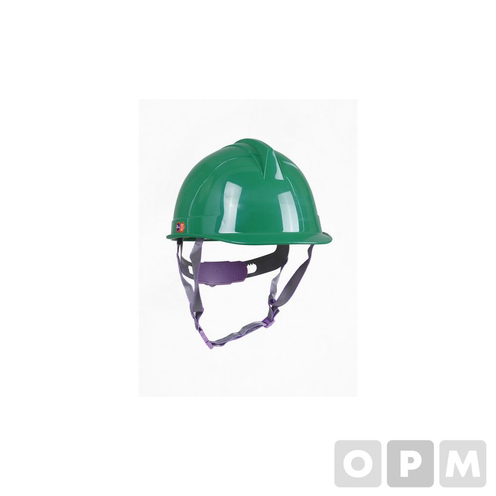 투구 자동형 안전모(녹색)