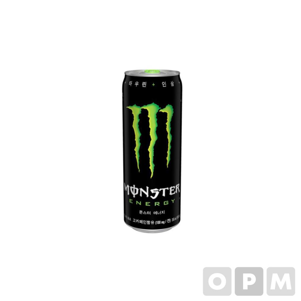 몬스터 에너지 드링크 (그린/355ml*24캔/코카콜라)