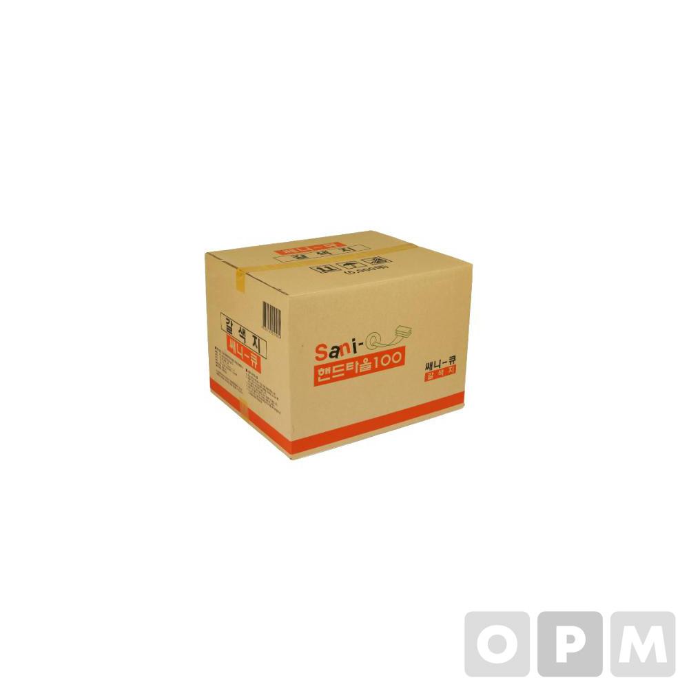 쎄니큐 페이퍼타올 갈색 5000매(100매*50밴드/215mm/1겹)