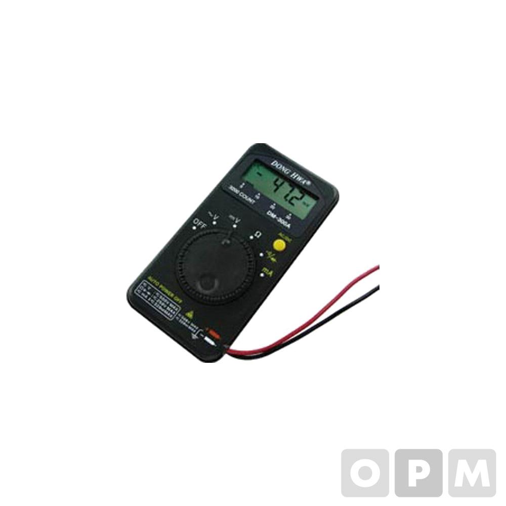 동화 디지털 포켓 테스터 DM-300A