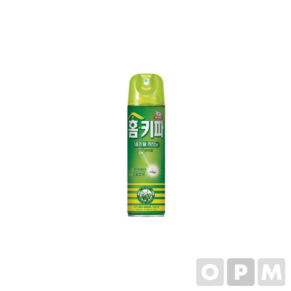 홈키파 에어졸 내츄럴허브(500ml/Henkel)