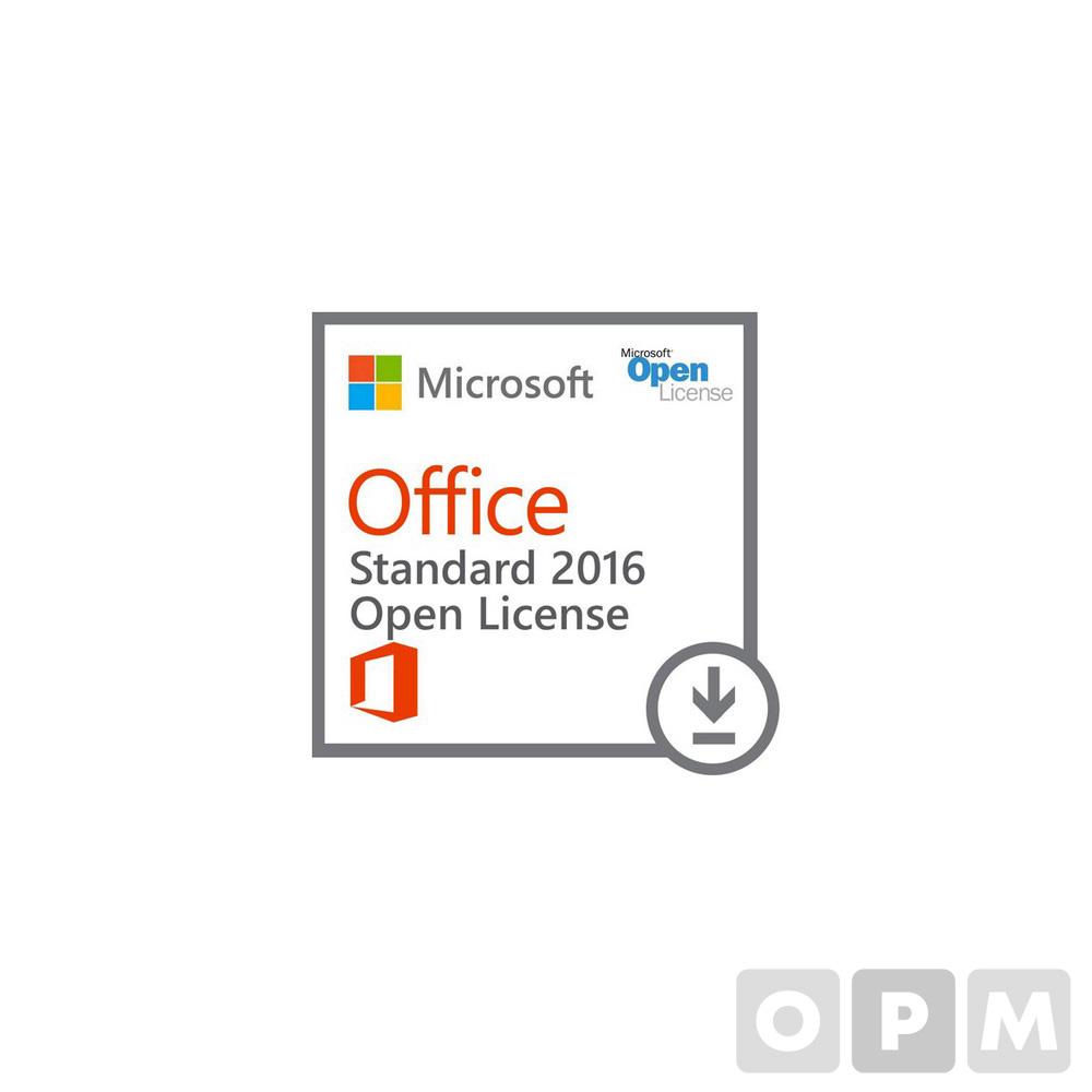 Office Standard 2019 라이선스(Microsoft/1년사용/기업용)