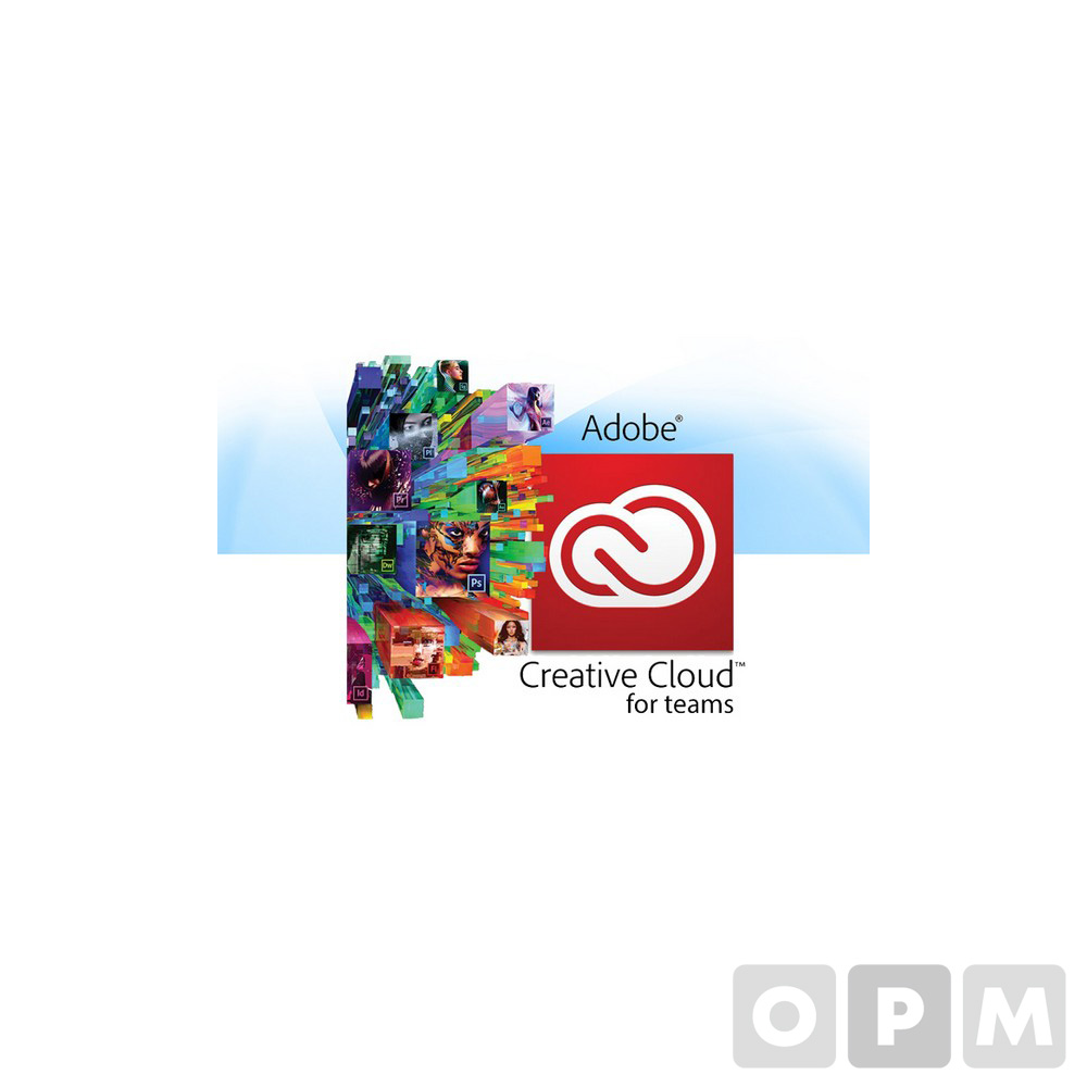 Creative Cloud Teams(Adobe/1년사용/기업용)