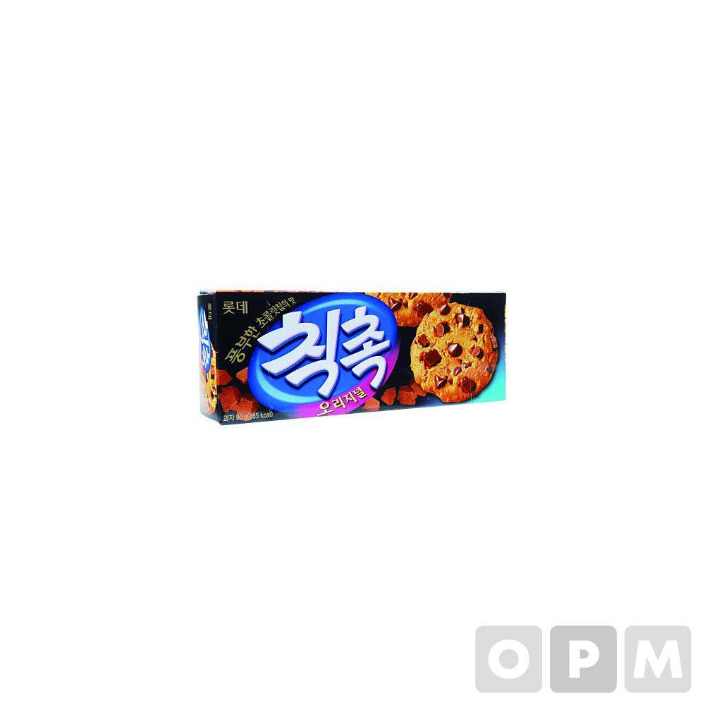 칙촉(90g/6입/롯데제과)