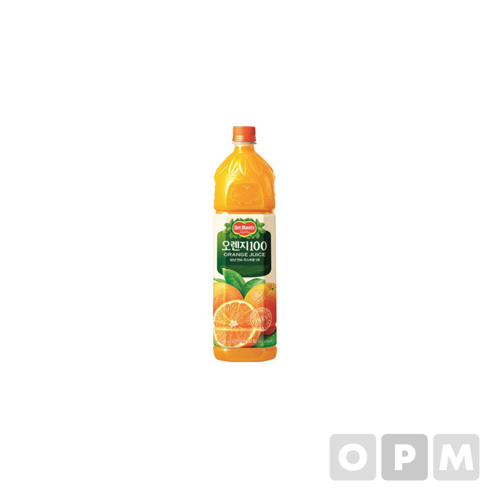 델몬트 오렌지주스100(1.5L/롯데칠성)