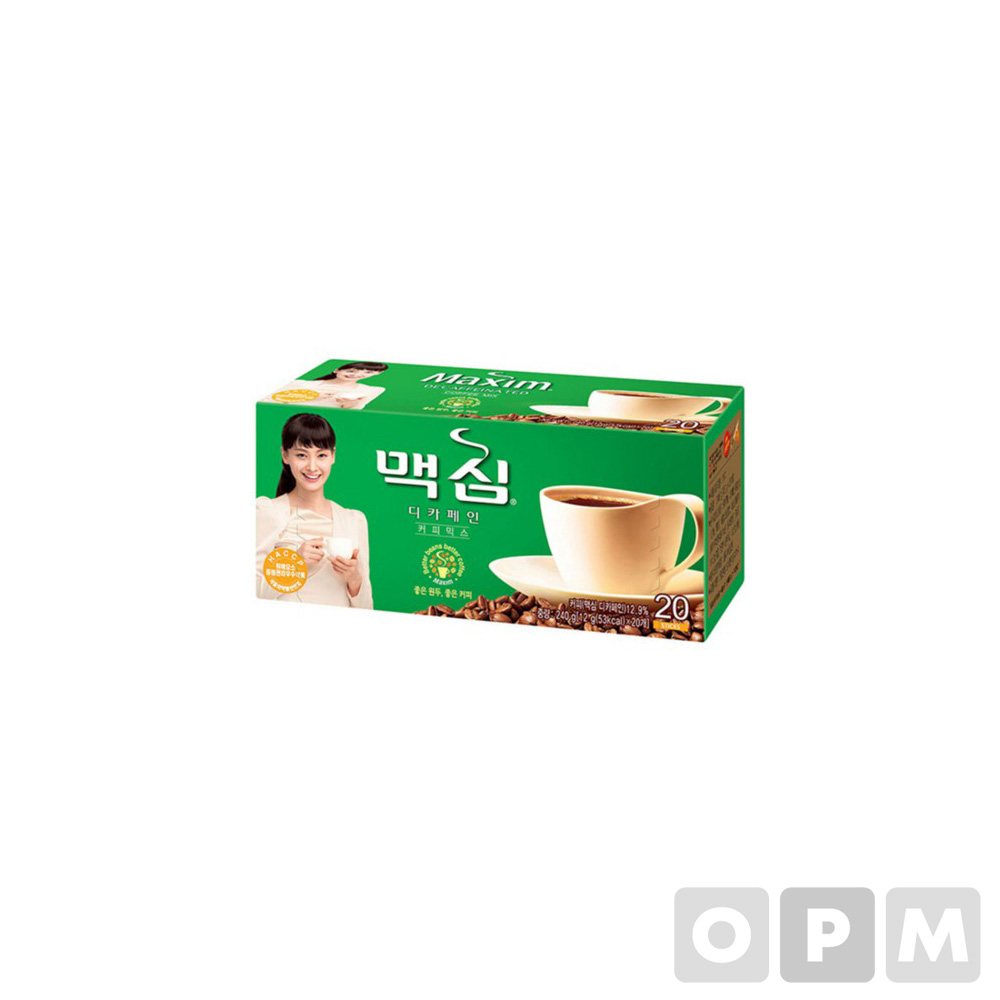 맥심 디카페인 커피믹스(20T)