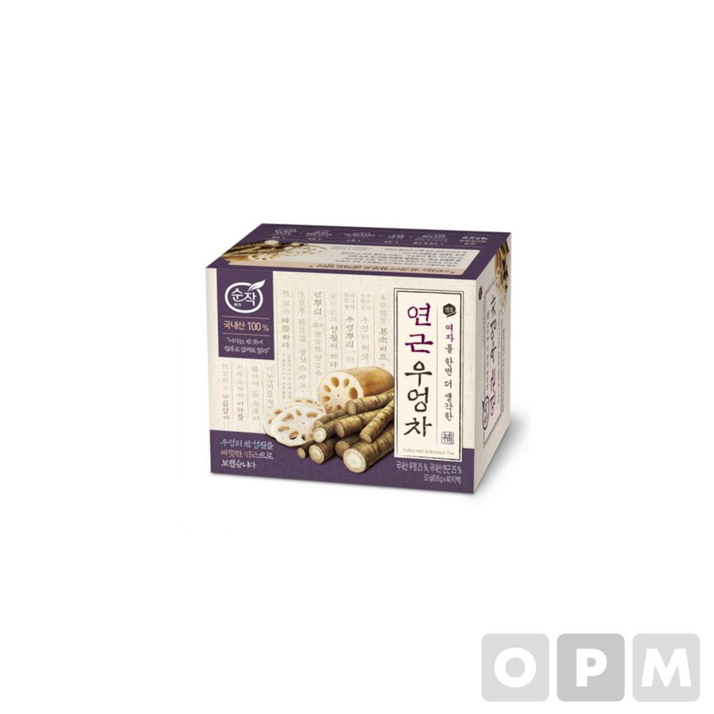 순작 연근우엉차(0.8g*40T/샘표식품)