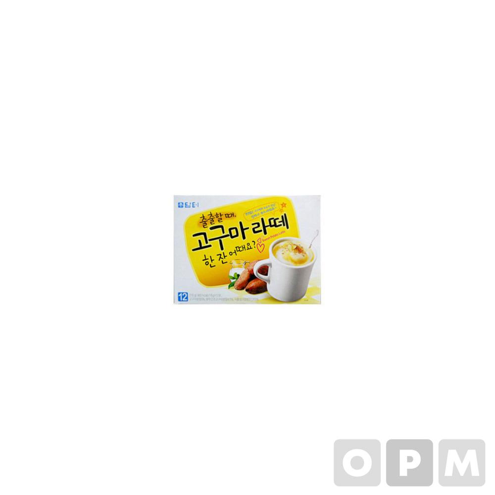 고구마라떼(18g*12T/담터)