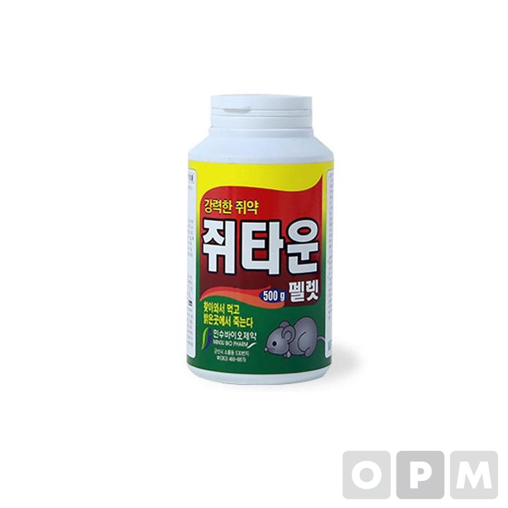쥐카운 펠렛 500g (40ea/1box)