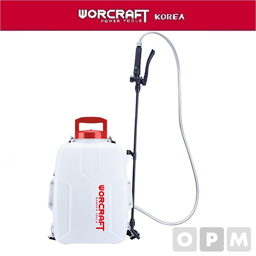 워크래프트 무선 비료 농약 살포기 CBS-S20Li(배터리/충전기별매)