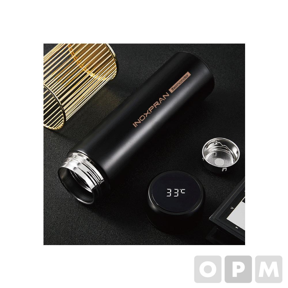 이녹스프랑 스마트 터치 온도계 녹차망텀블러 450ml (60개)