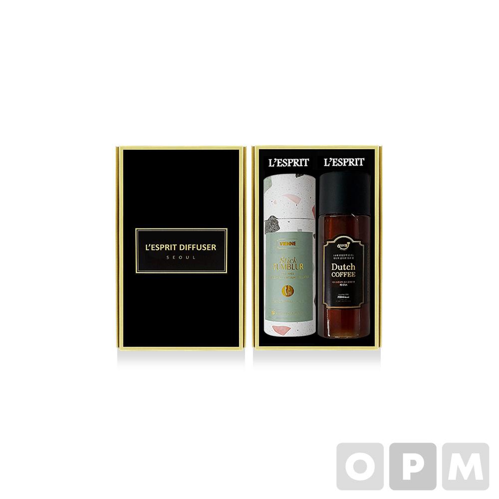 레스쁘리 2P 더치커피세트 A (텀블러(포켓미니)+더치커피 세트 350ml) (50개)