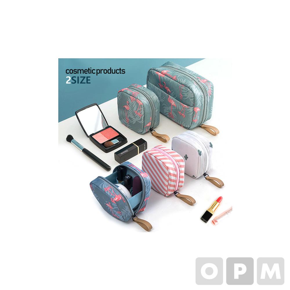 큐브 화장품 파우치 / 여행파우치 화장품 가방 보조가방 (120개)